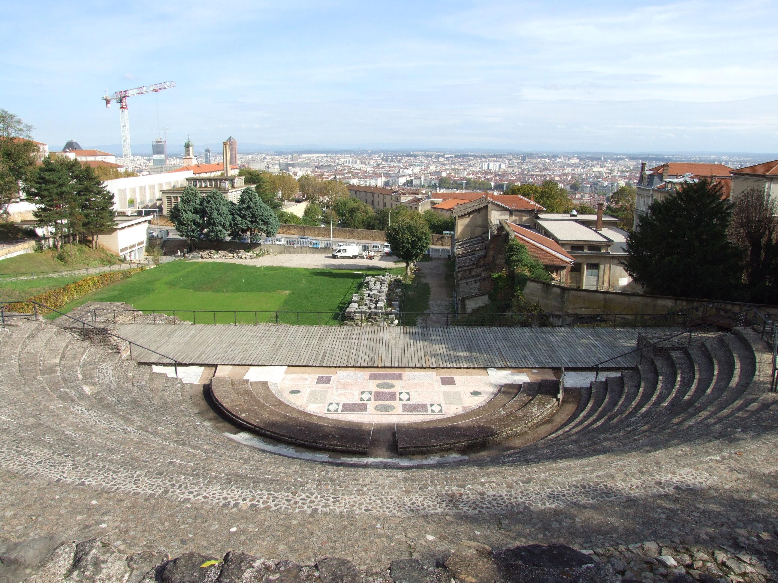 Lyon říjen 2014, amfiteátr