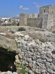 Libanon 2006, Byblos, křižácký hrad