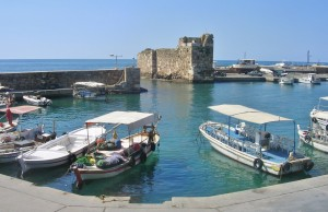 Libanon 2006, Byblos - přístav