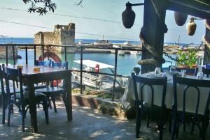 Libanon 2008 - Byblos, restaurace, kterou navštívili světoví prezidenti, i Václav Havel