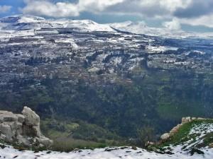 Libanon 2006 - cesta k cedrům (pauza na focení ze srázu)
