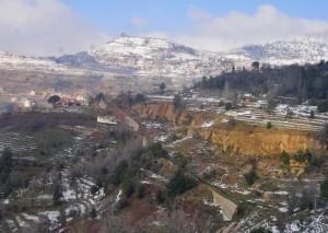 Libanon 2006 - cesta do hor k cedrům