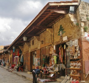 Libanon 2008, Byblos, tržnice