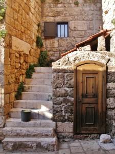 Libanon 2006 - Byblos, hist. centrum u přístavu
