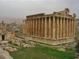 Libanon 2006 - Baalbek, Bakchův chrám