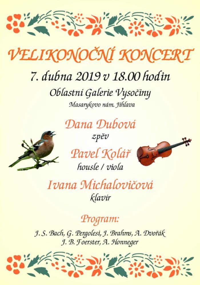 velikonoční koncert dana dubová